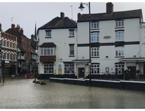 Help for The Flooded Businesses of Shrewsbury