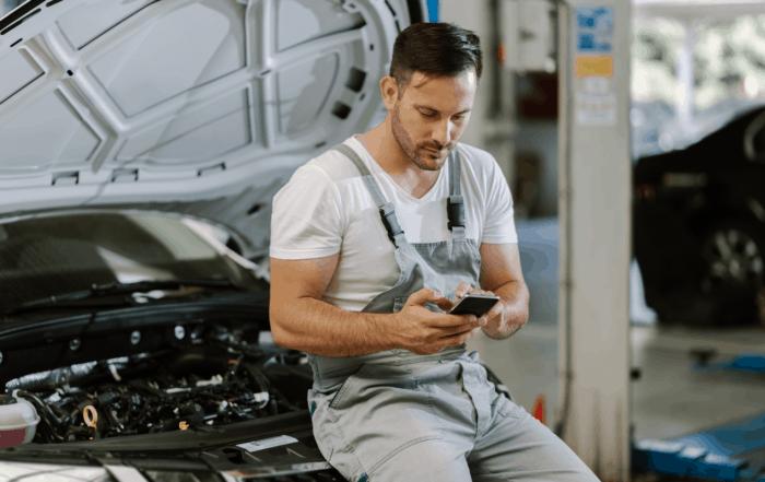 motor trade social media