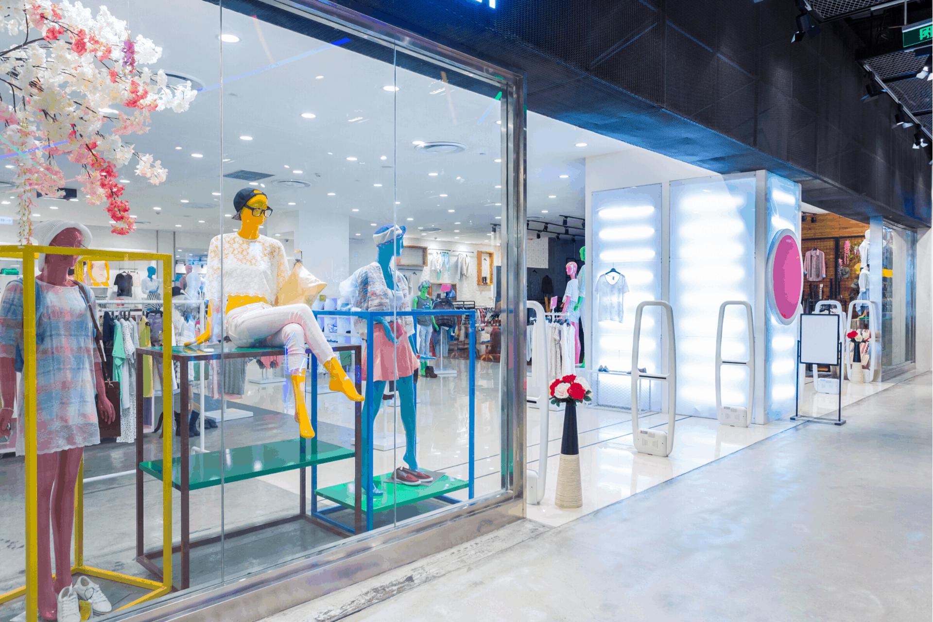 freshen up your shop window